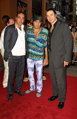 John Ventimiglia , Steven Van Zandt and Federico Castelluccio at the New York premiere of Artisan's Made