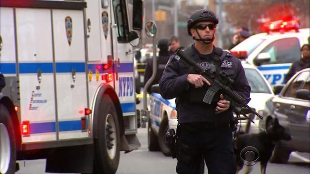 Gunman kills two NY police officers in Brooklyn
