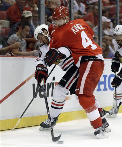 Red Wings top Blackhawks 3-1, take 2-1 series lead