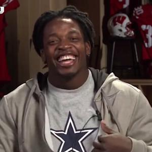 Wisconsin running back Melvin Gordon is caught wearing Cowboys shirt