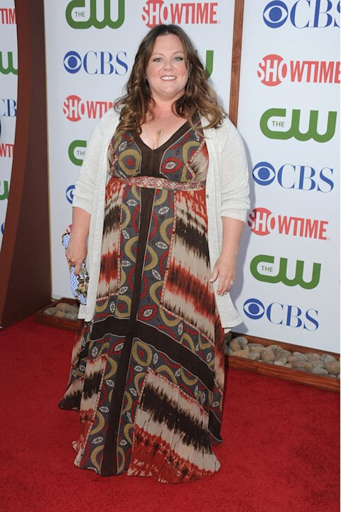 Melissa McCarthy of &quot;Mike and Molly&quot; attends the CBS, The CW, and Showtime 2011 Summer TCA Party at The Pagoda on August 3, 2011 in Beverly Hills, California. 