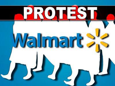 Wal-Mart Protesters Arrested in NYC