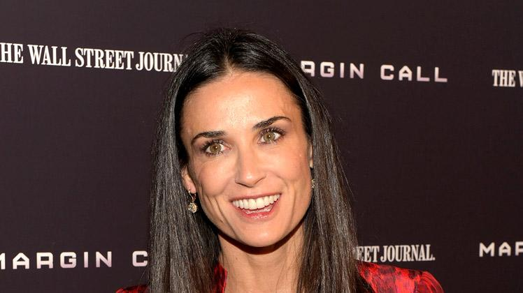 Demi Moore Margin Call Ny Premiere