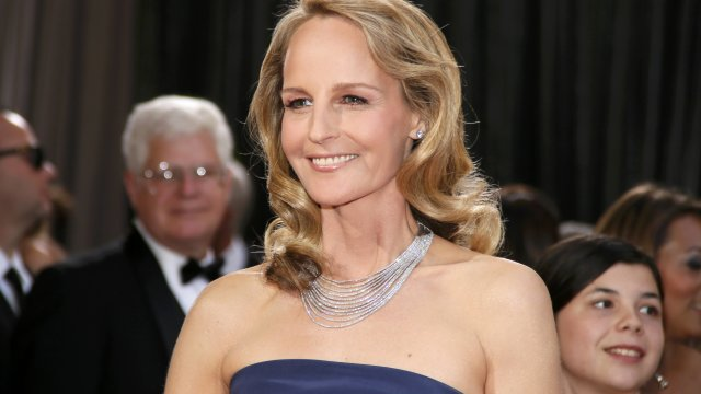 Oscar 2013: Helen Hunt in un abito low cost
