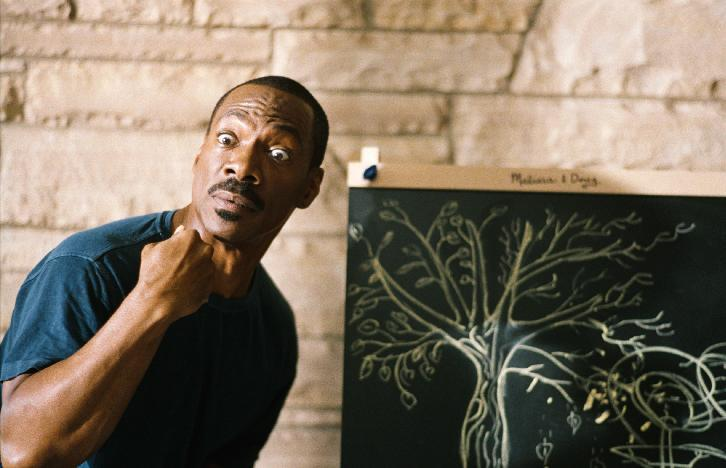 "In this film image released by Paramount Pictures, Eddie Murphy is shown in a scene from ""A Thousand Words."" (AP Photo/Paramount - DreamWorks Pictures, Bruce McBroom)"