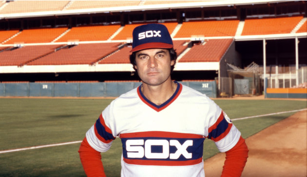 FILE - This Sept. 23, 1983 file photo shows Chicago White Sox manager Tony La Russa. La Russa retired as manager of the St. Louis Cardinals on Monday, Oct. 31, 2011,  three days after winning a dramat