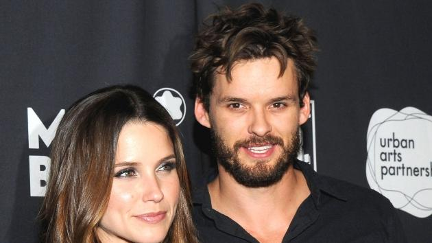 Sophia Bush and Austin Nichols arrive West coast debut of The 24 Hours Plays after party in Santa Monica, Calif. on June 18, 2011 -- Getty Premium