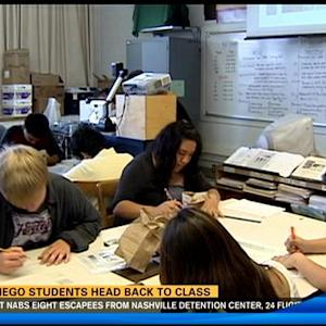 11AM UPDATE | San Diego students head back to school