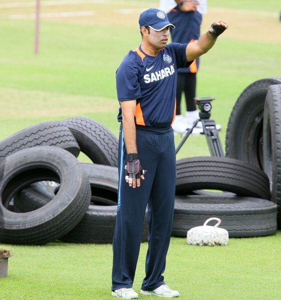 India Training Session