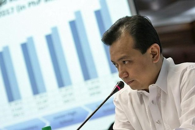 File Photo: Senator Antonio Trillanes