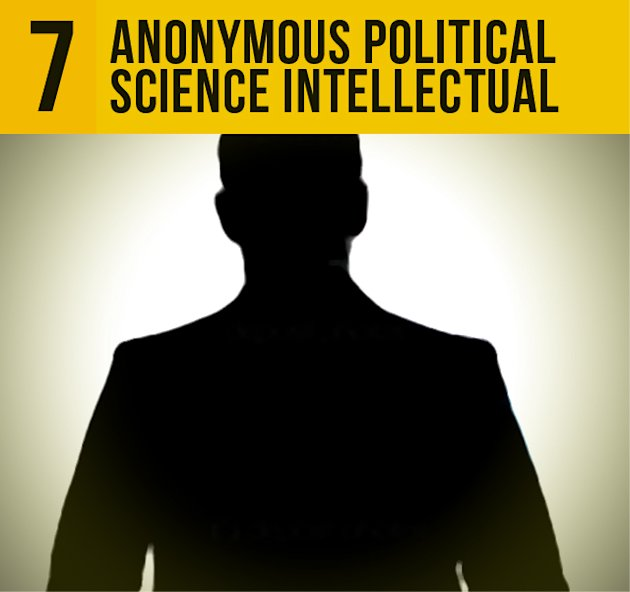 7.Anonymous Political Science Intellectual: