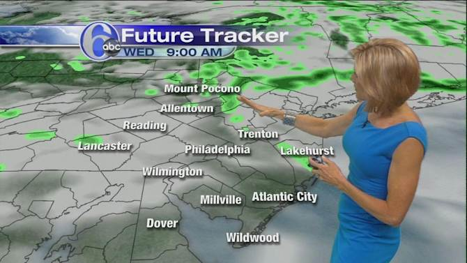 AccuWeather: Cooler, Still Damp Today