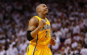 Pacers steal Game 2 from Heat, 97-93