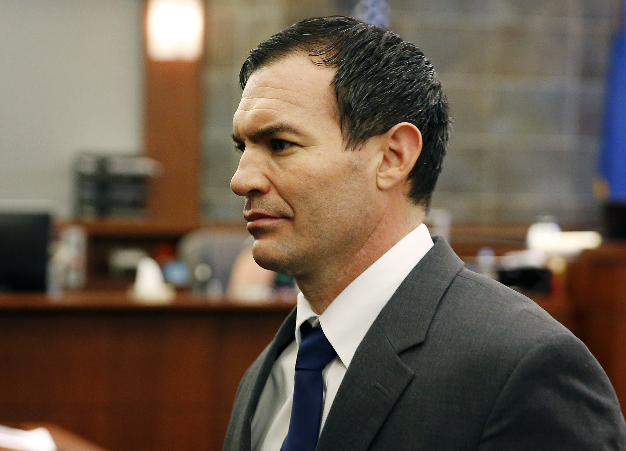 Jury to decide ex-Vegas firefighter's penalty in wife murder