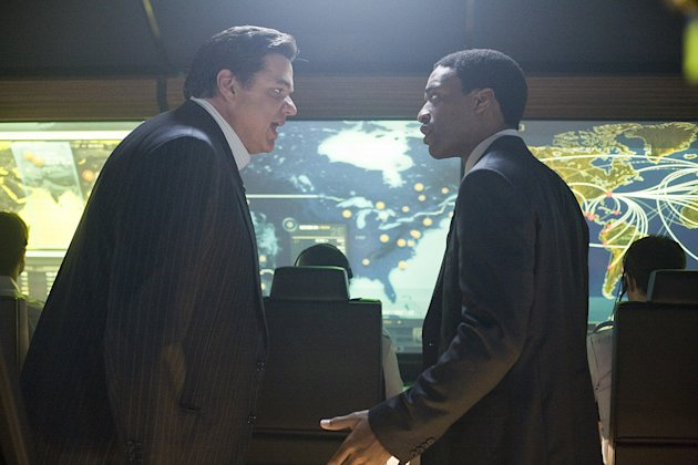 2012 Production Photos Columbia Pictures 2009 Oliver Platt Chiwetel Ejiofor