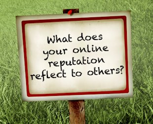 "Is Your ""Online Reputation"" Out of Control? image yard sign online reputation"