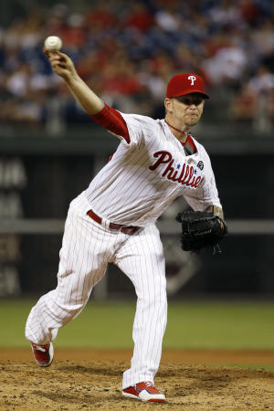Burnett K's 12, Phillies beat Nationals 3-2