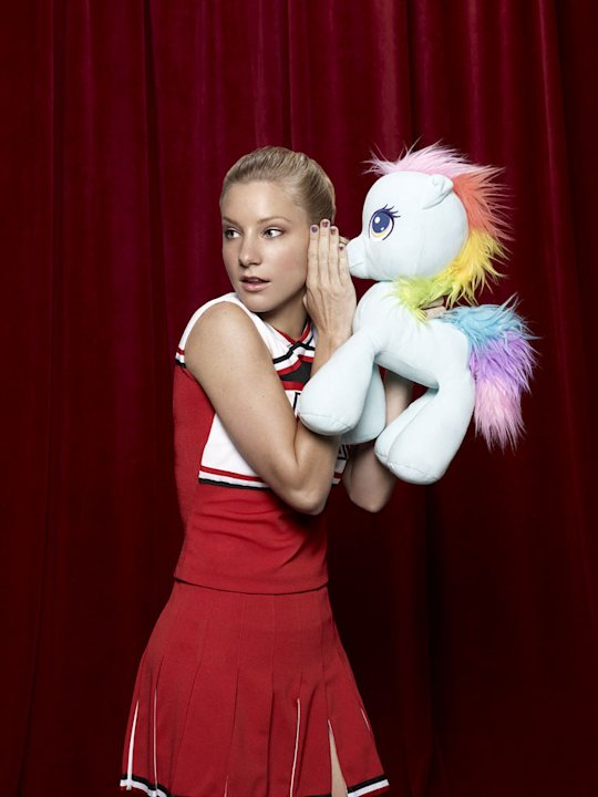 "Heather Morris returns as Brittany in ""Glee."""
