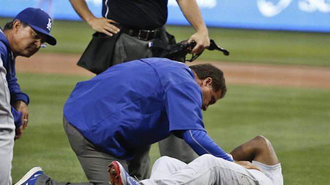 Dodgers place Puig, Peralta on disabled list