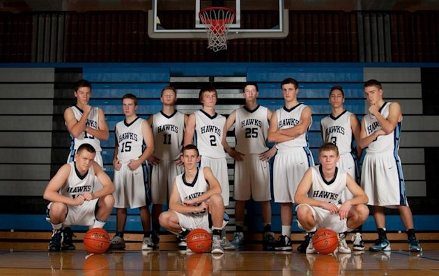 Fans of the Brush Prairie (Wash.) Hockinson Hawks cost their team a game by preemptively rushing the court -- Facebook