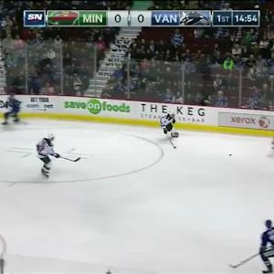 Minnesota Wild at Vancouver Canucks - 02/01/2015