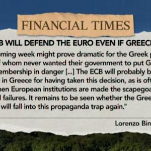 ECB Will Defend Euro Even if Greece Quits: Smaghi