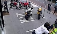 Armed Gang's Ducati Bike Raid Caught On CCTV