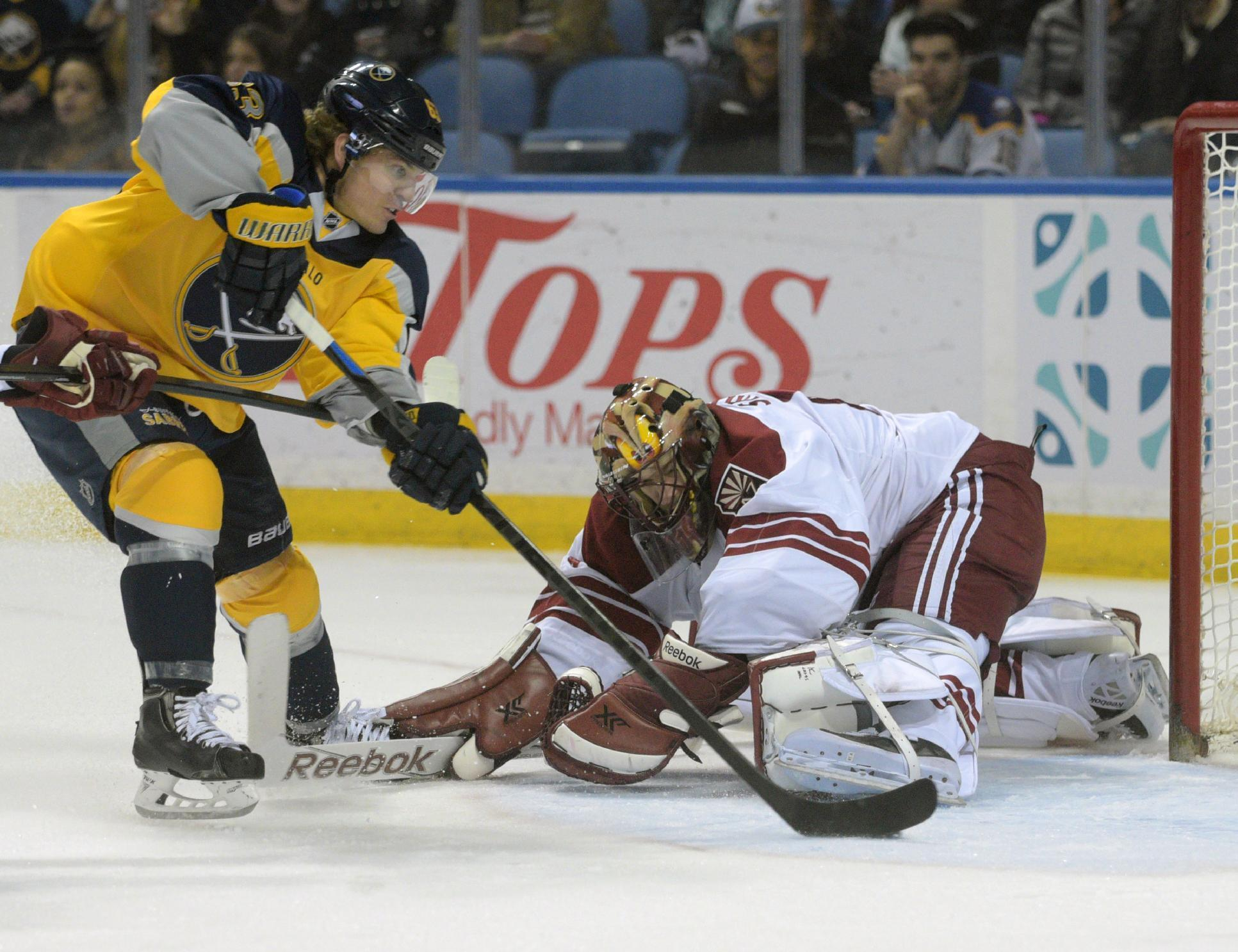 Sabres fans cheer as Gagner lifts Coyotes to 4-3 win in OT