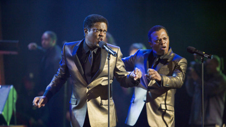 Bernie Mac Samuel L. Jackson Soul Men Production Stills The Weinstein Company 2008