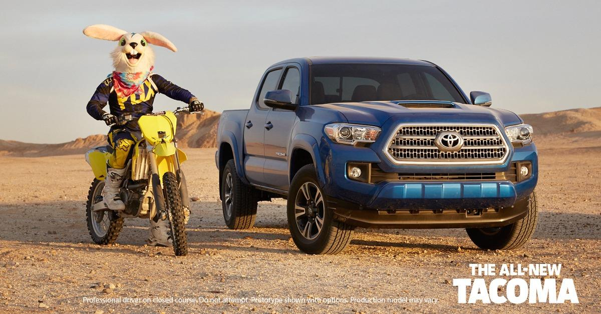 Get Dirty With the All-New Tacoma
