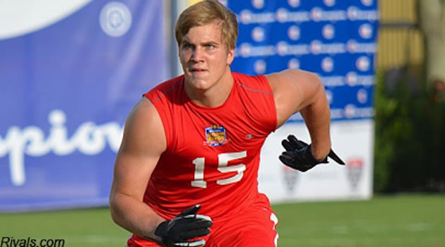 High school linebacker Alex Anzalone, whose Twitter profile received commentary from Lennay Kekua &#x002014; Rivals.com