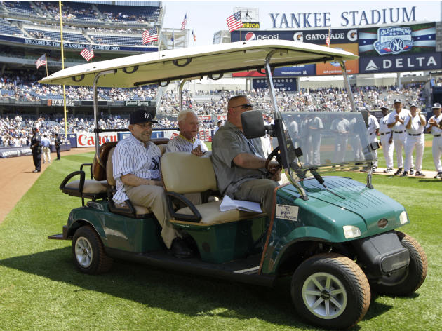 Yankees Baseball Old Timers