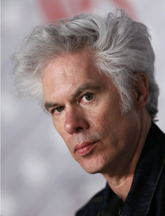 "Director Jim Jarmusch attends a news conference for the film ""Only Lovers Left Alive"" during the 66th Cannes Film Festival"