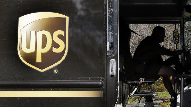 UPS says consumers driving shipping growth