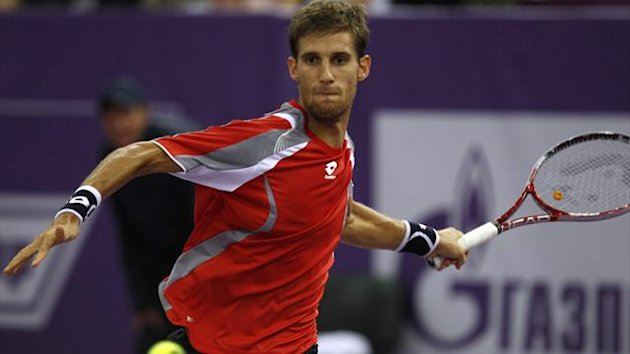 Martin Klizan of Slovakia