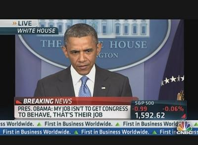 Pres. Obama: 'Things Are Dysfunctional on Capitol Hill'
