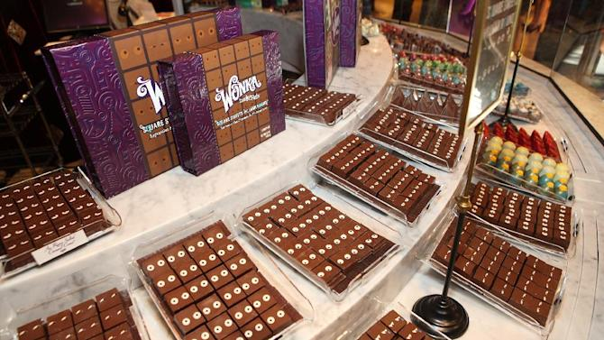 A general view of atmosphere at the new Wonka store at Sweet! Hollywood during the launch of the Wonka Inventing Room Collection, a decadent premium chocolate line, on Tuesday Nov. 13, 2012, in Los Angeles. (Photo by Casey Rodgers/Invision for WONKA/AP Images)