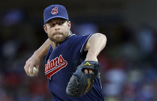 Indians end 8-game losing streak, 5-2 at Texas