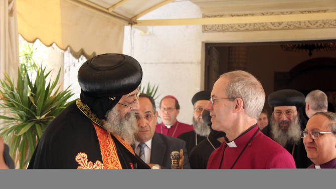 Archbishop of Canterbury visits Egypt