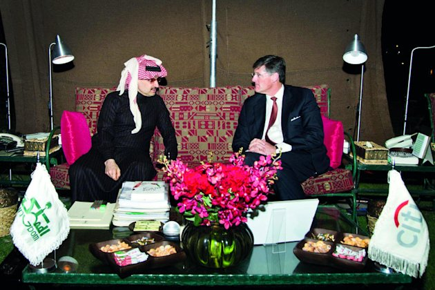 Alwaleed, Corbat discuss future plans of Citigroup