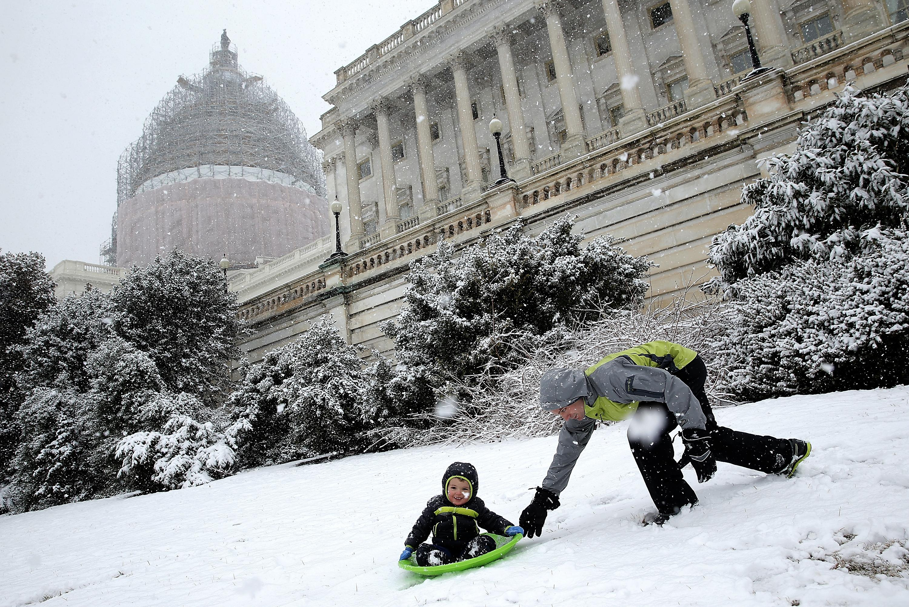 How Capitol Hill sledders flouted the law--and won