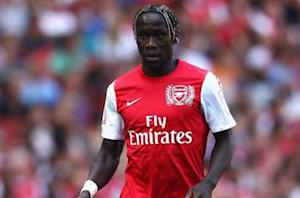 "Bacary Sagna: It is ""amazing to be back"" after appearance for Arsenal Under-21s"