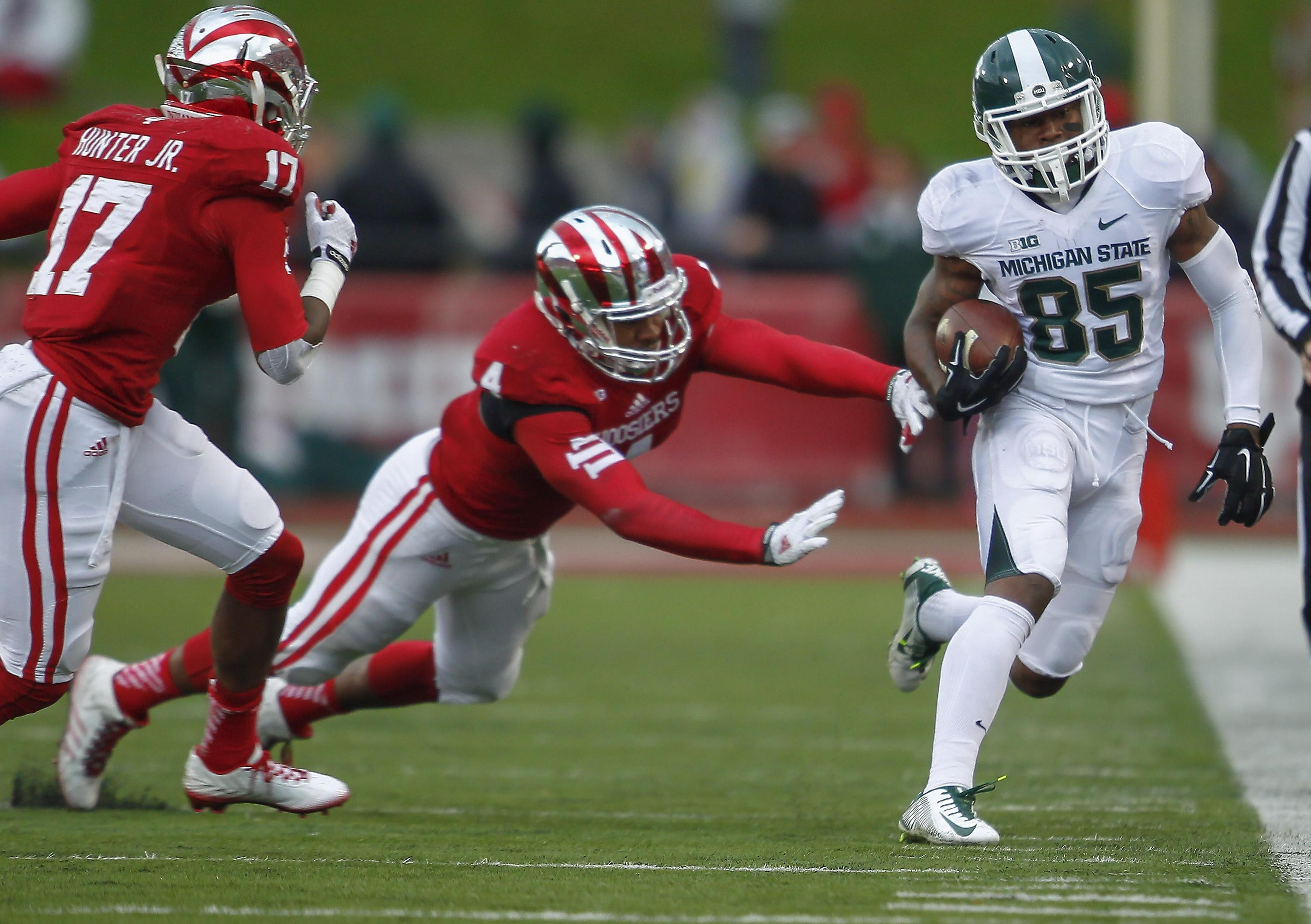 Report: Michigan State's Macgarrett Kings Jr. charged with 2 misdemeanors
