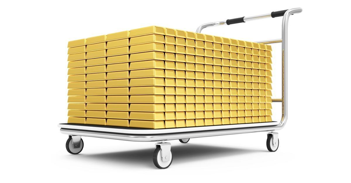 Guess which U.S. firm has begun stockpiling gold
