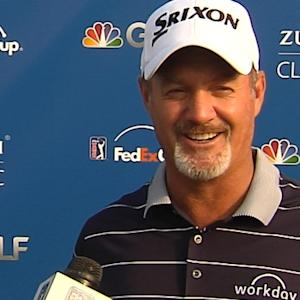 Jerry Kelly interview after Round 2 of the Zurich Classic