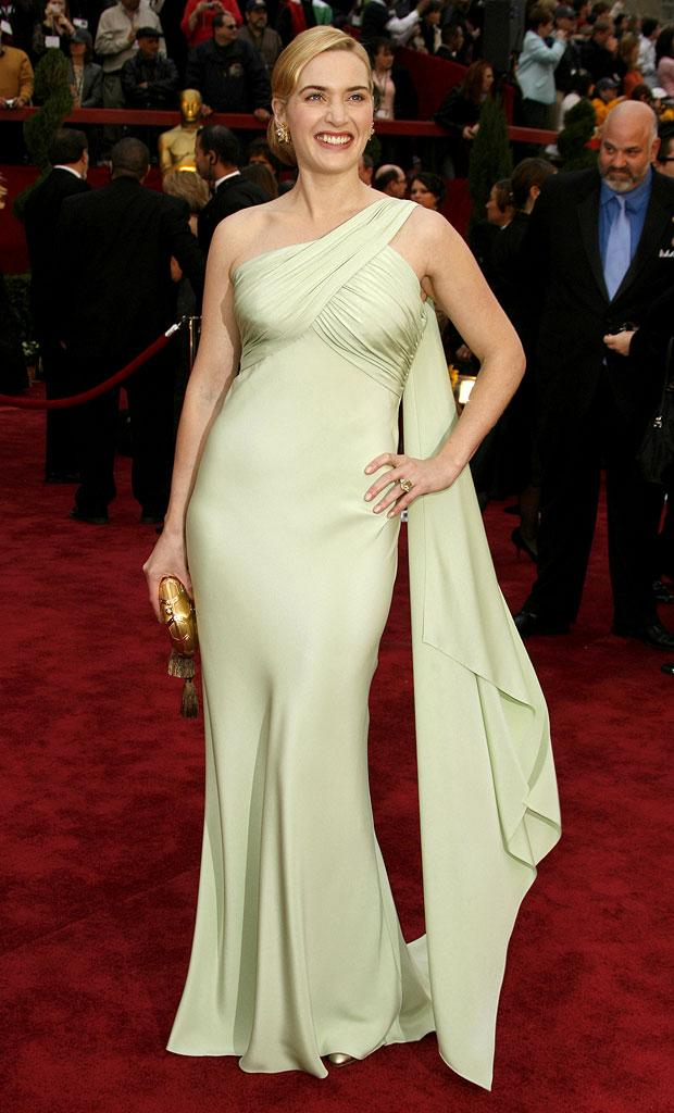 "Kate Winslet, nominee Best Actress in a Leading Role for ""Little Children"" at The 79th Annual Academy Awards."