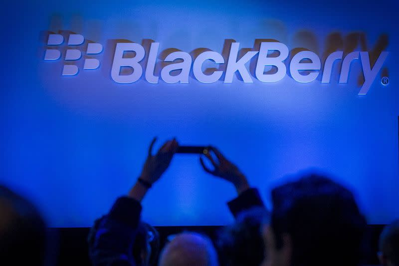 BlackBerry 3rd-qtr revenue falls more than expected, shares slide