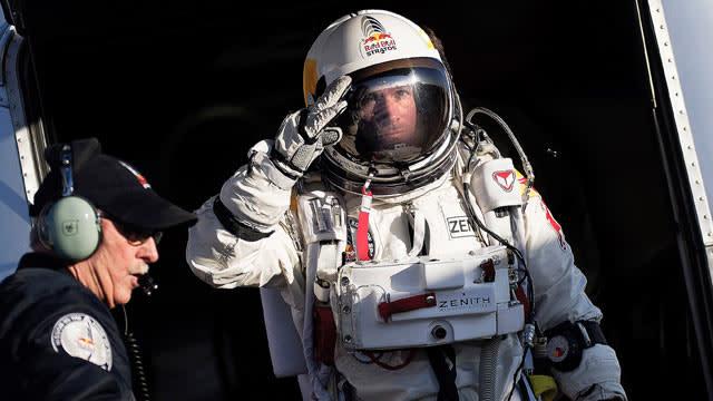 Felix Baumgartner Set to Break Sound Barrier With Record-Breaking Skydive