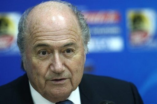 """After last night's match #GLT is no longer an alternative but a necessity,"" Blatter wrote on his Twitter account"
