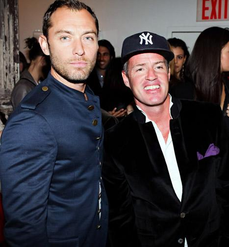 Jude Law Hits Up Event for Photographer Ben Watts in NYC